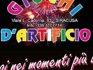 Giochi d'Artificio One - Siracusa